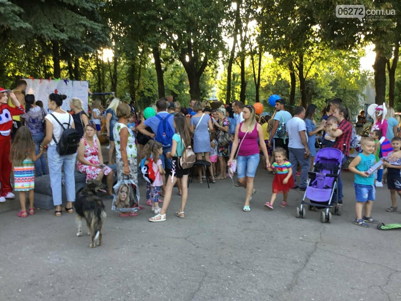 Вчера в Константиновке состоялся благотворительный праздник для детей (видео), фото-12