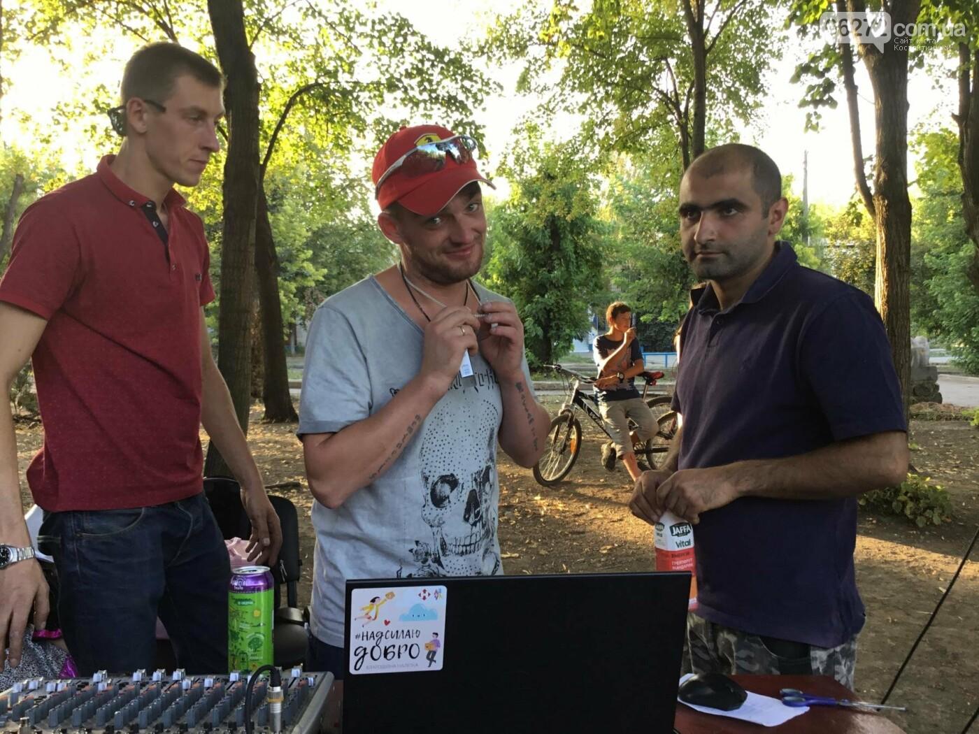 Вчера в Константиновке состоялся благотворительный праздник для детей (видео), фото-8