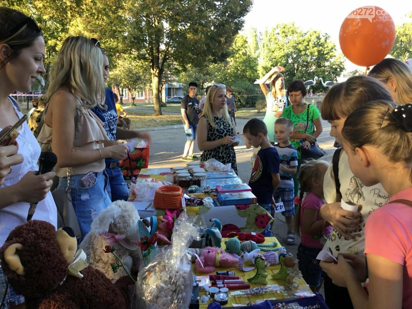 Вчера в Константиновке состоялся благотворительный праздник для детей (видео), фото-11