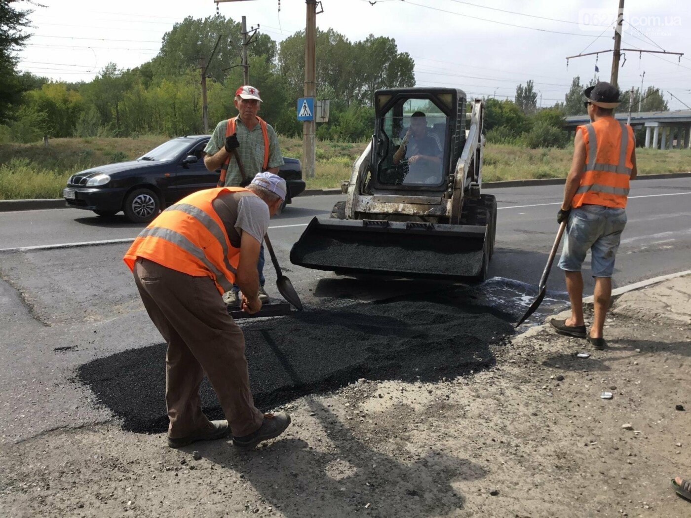 У Костянтинівці триває ремонт доріг, фото-5