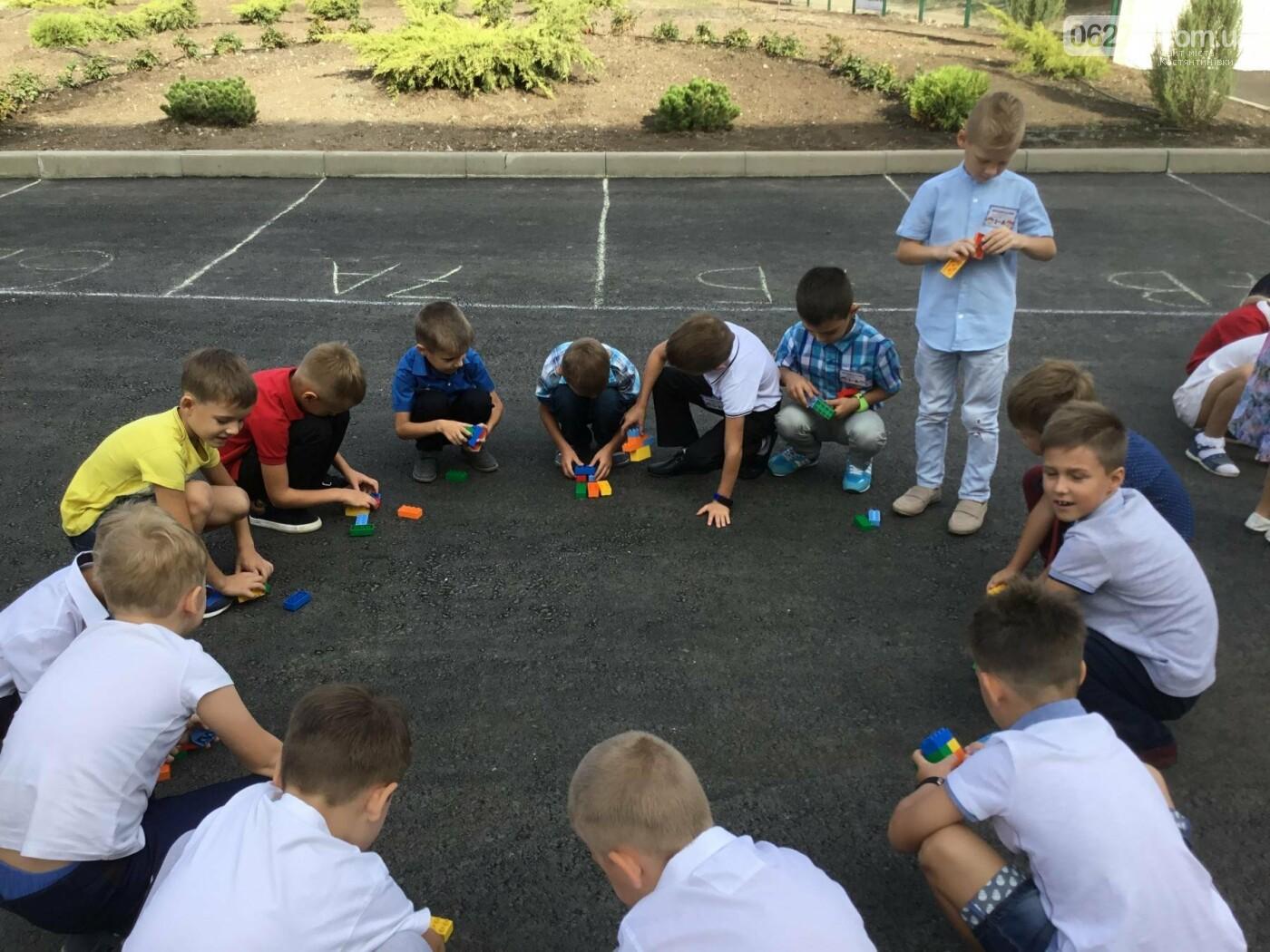 У Костянтинівській школі №1 першачки навчалися за допомогою «Лего», фото-4