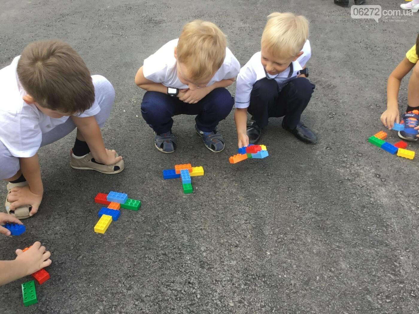 У Костянтинівській школі №1 першачки навчалися за допомогою «Лего», фото-1