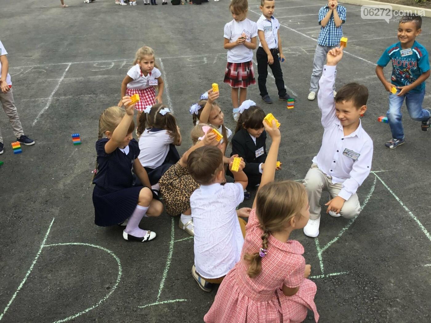 У Костянтинівській школі №1 першачки навчалися за допомогою «Лего», фото-2