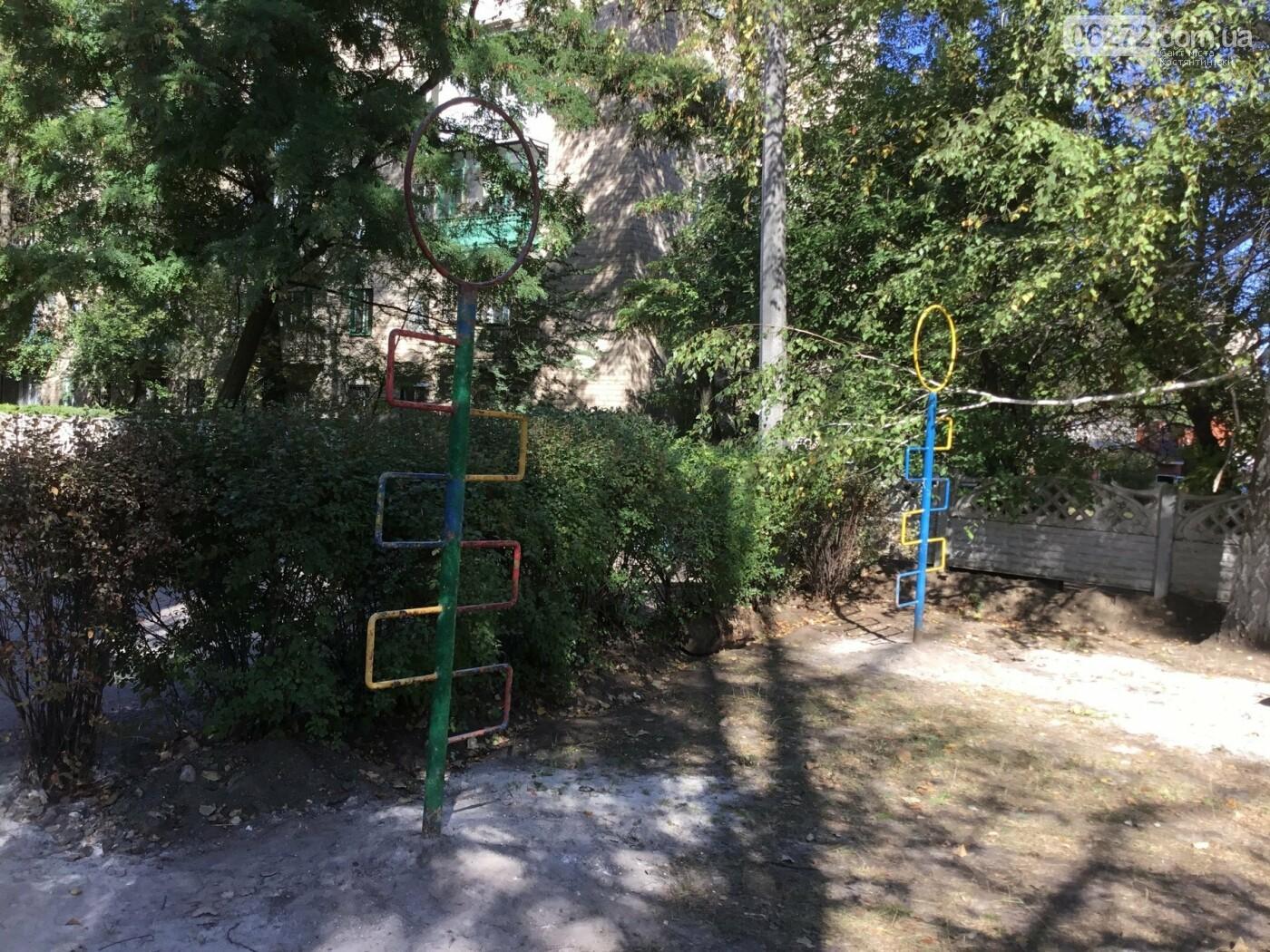 Костянтинівці облаштували майданчик на території дитячого садка, фото-3