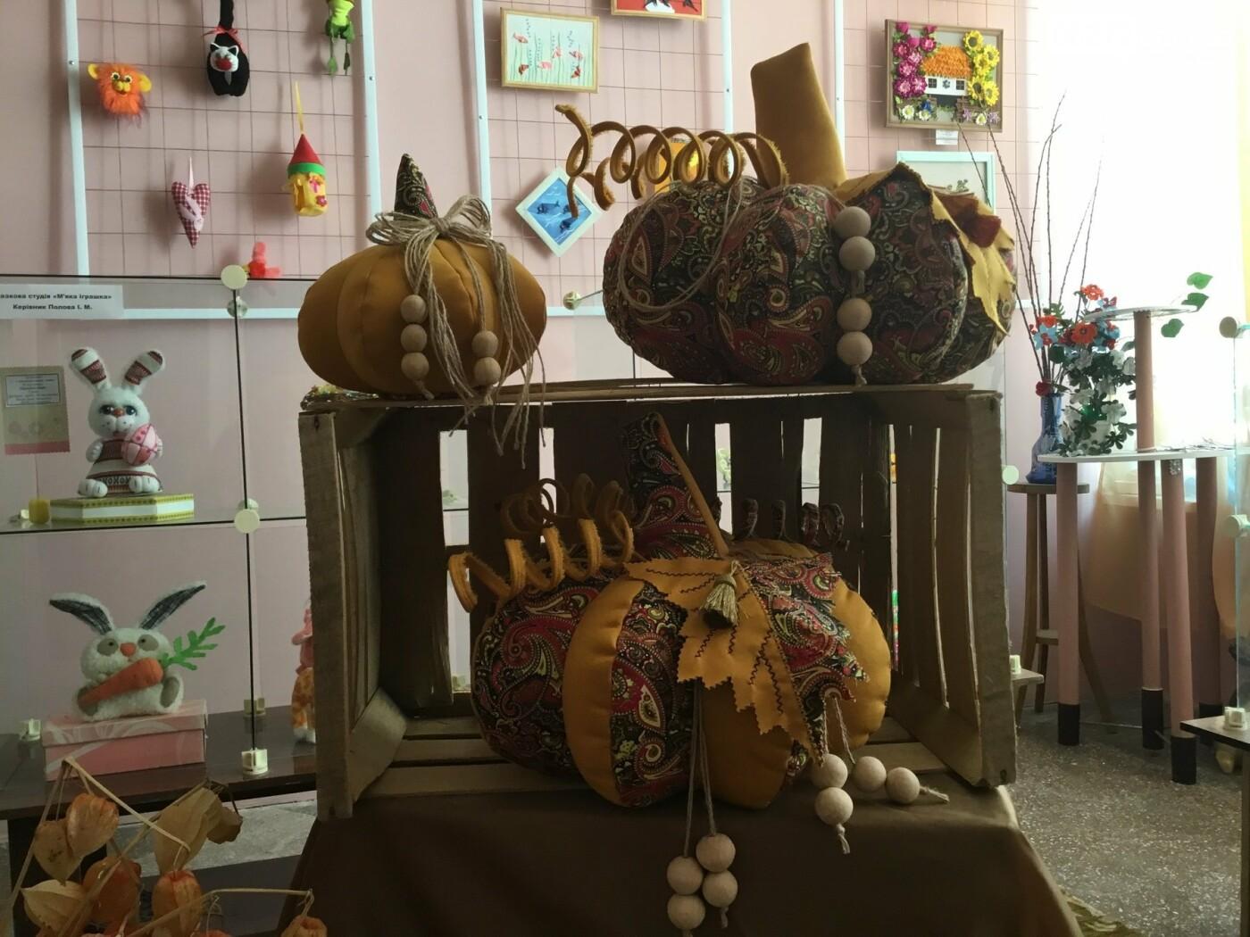 Осінні гарбузи виросли в Костянтинівському Центрі творчості, фото-2