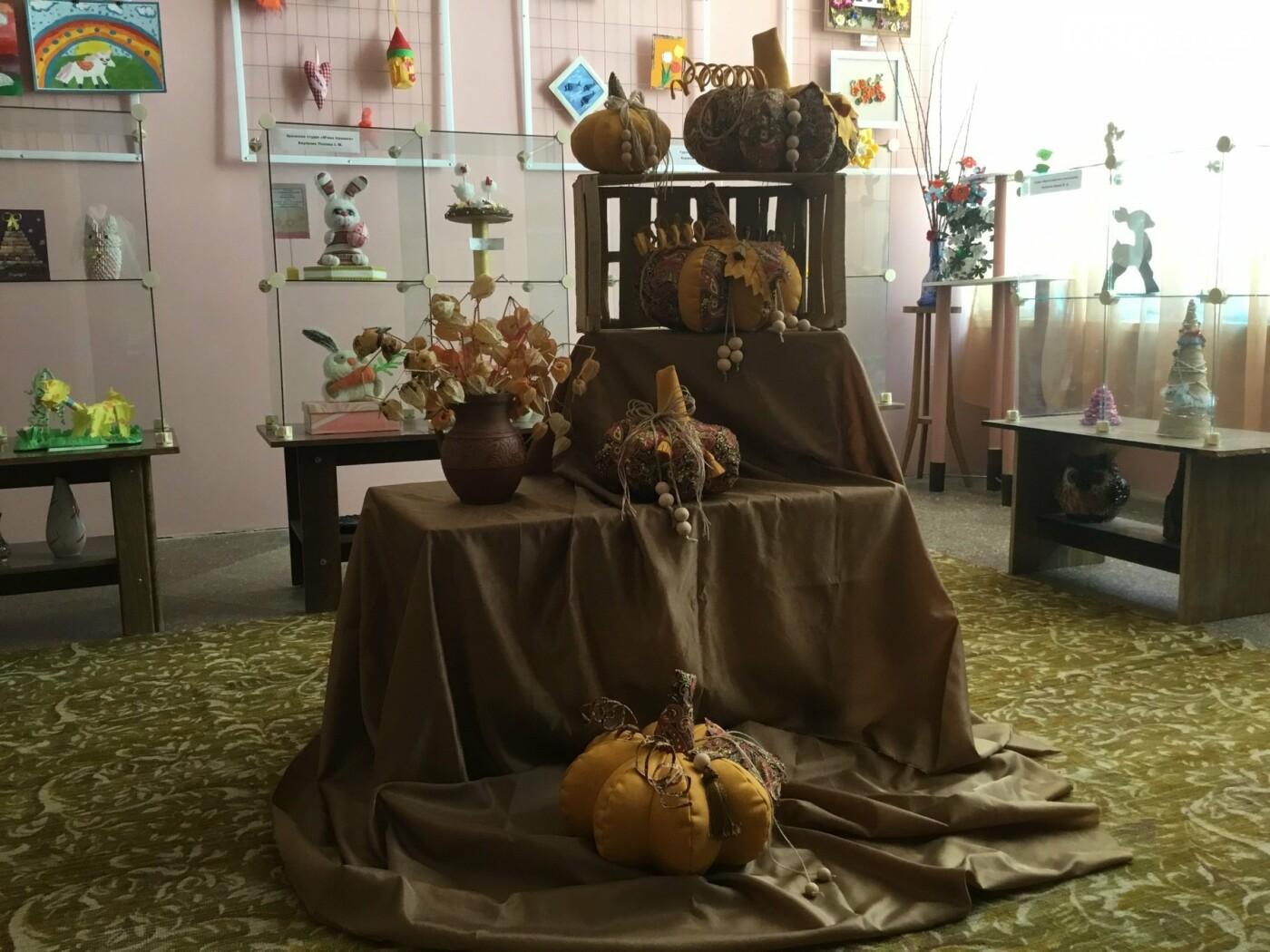Осінні гарбузи виросли в Костянтинівському Центрі творчості, фото-5