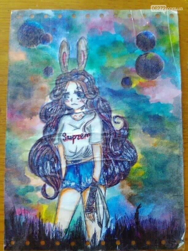 14-річна школярка із Костянтинівки малює японські комікси, фото-7