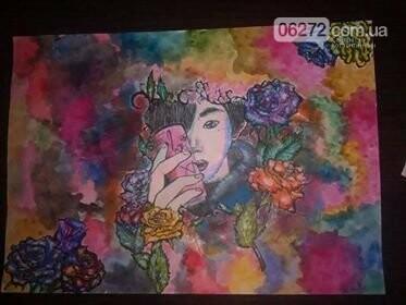 14-річна школярка із Костянтинівки малює японські комікси, фото-2