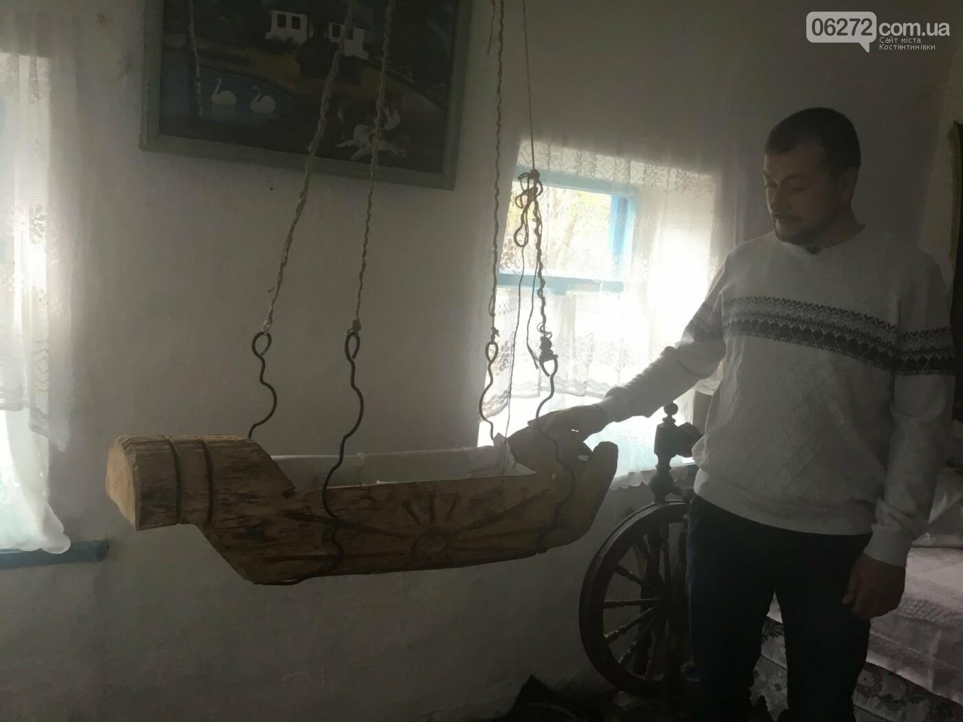В селі  Олександро-Калинове є чудо-колиска, яка творить дива, фото-1