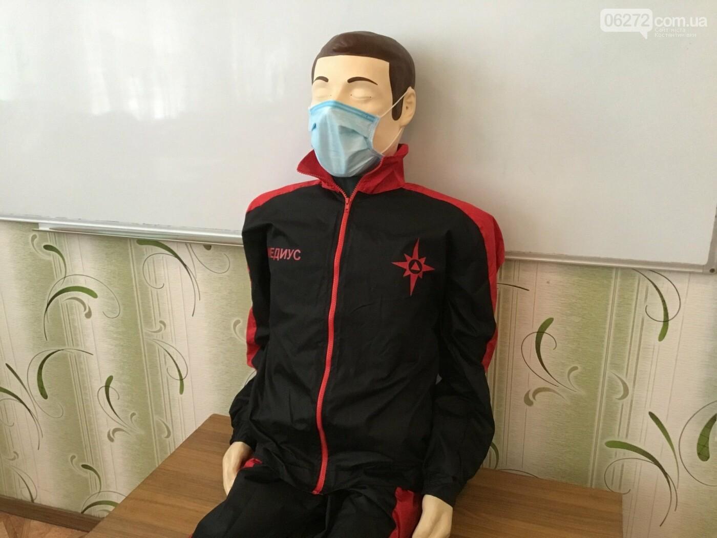 В Костянтинівській школі №16 з'явився манекен-тренажер для штучного дихання «Максим», фото-3