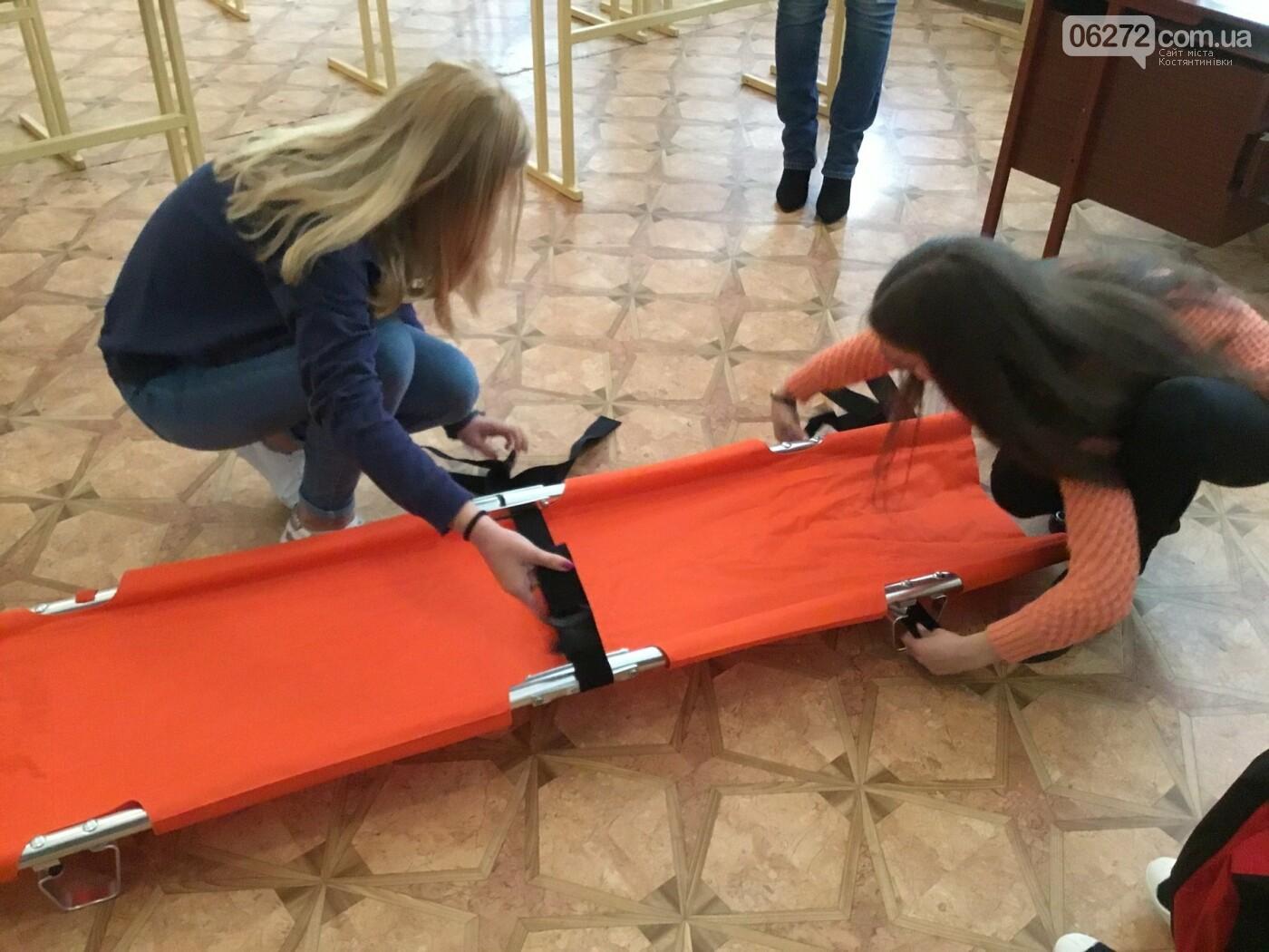 В Костянтинівській школі №16 з'явився манекен-тренажер для штучного дихання «Максим», фото-6