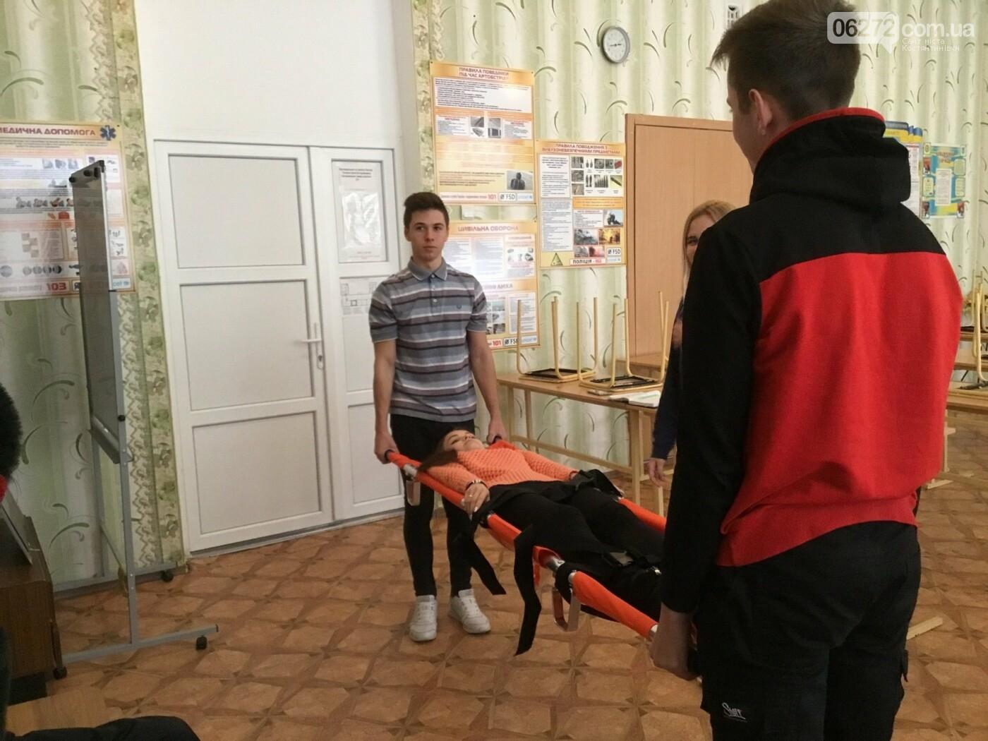 В Костянтинівській школі №16 з'явився манекен-тренажер для штучного дихання «Максим», фото-7