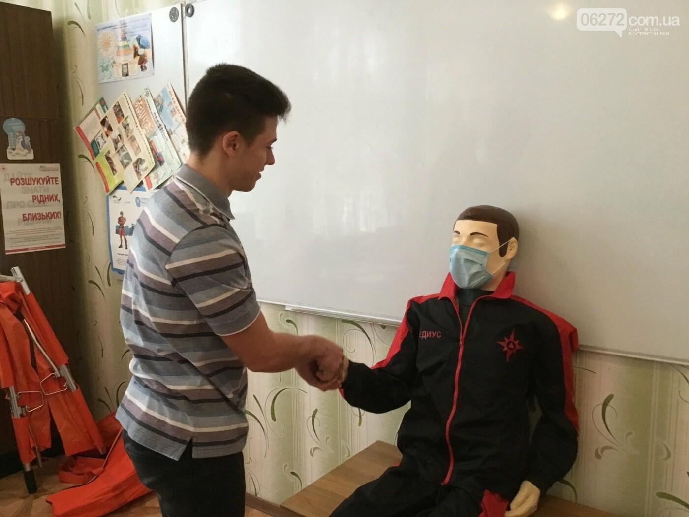 В Костянтинівській школі №16 з'явився манекен-тренажер для штучного дихання «Максим», фото-4
