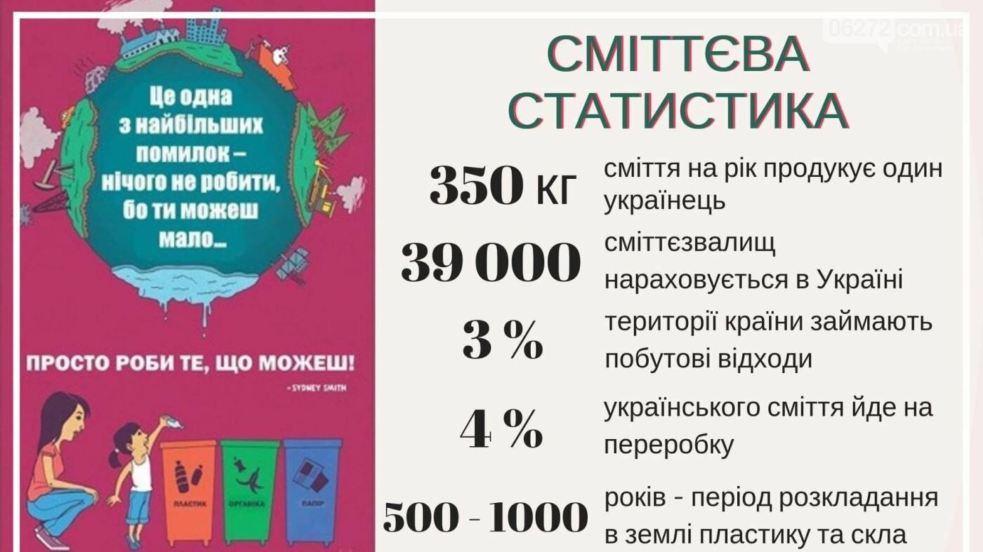 Один українець продукує близько 350 кг сміття на рік, фото-1