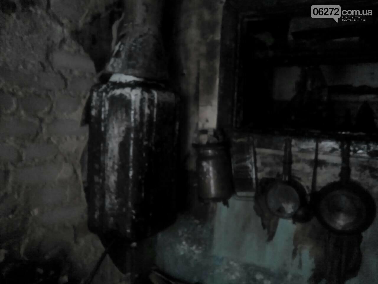 В Константиновке во время пожара погибла женщина, фото-1