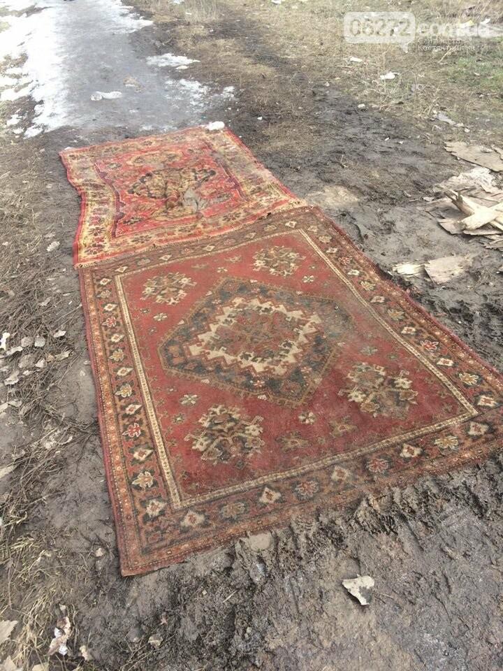 В Константиновке вместо асфальта кладут ковровые дорожки (фотофакт), фото-2