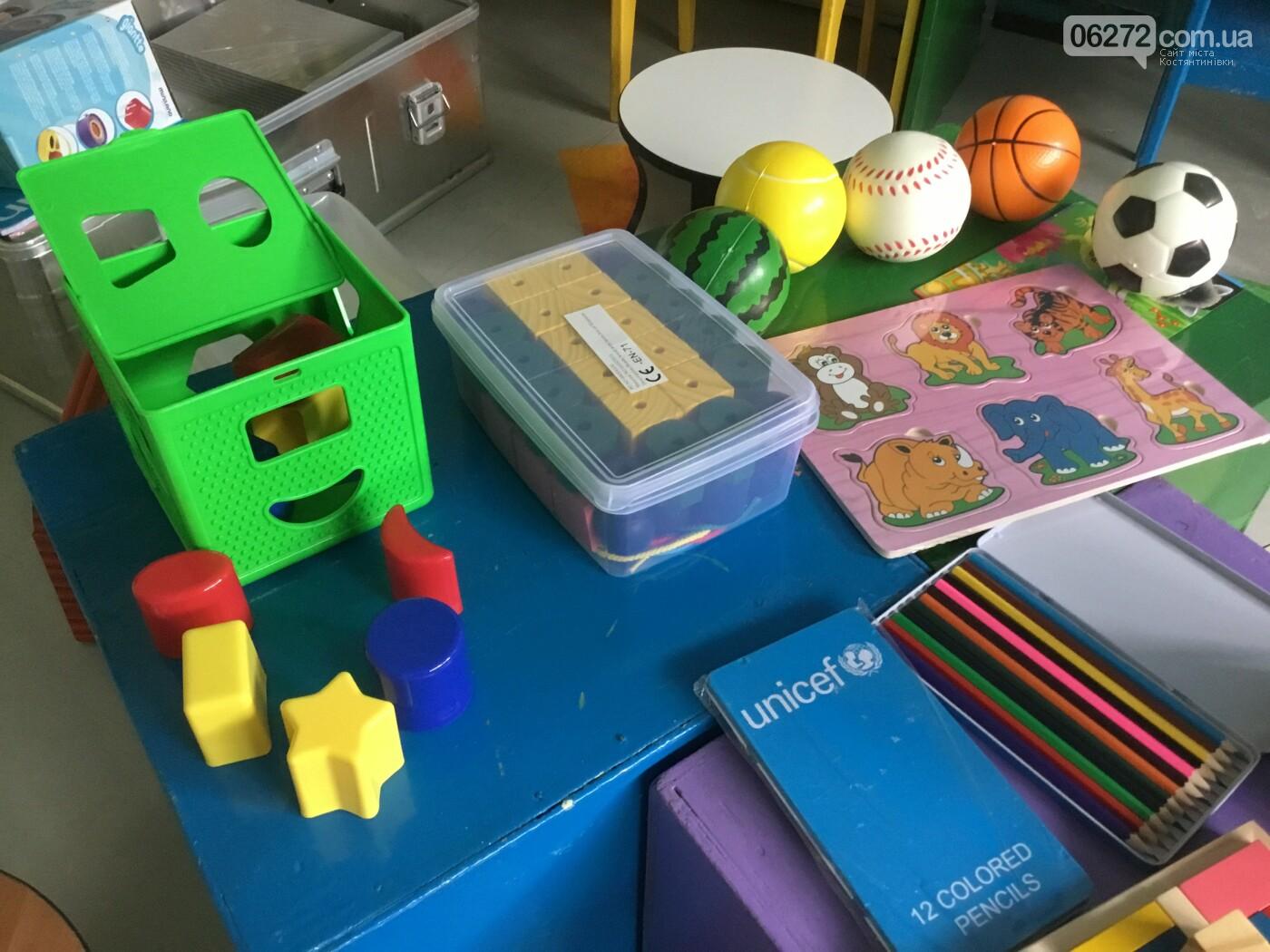 Чотири дитячих садочка Костянтинівки отримали «Валізи розвитку», фото-2
