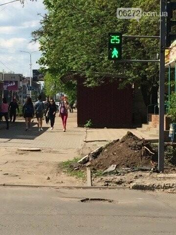 Почему в Константиновке так долго не работал светофор на Ломоносова-Европейской, фото-1