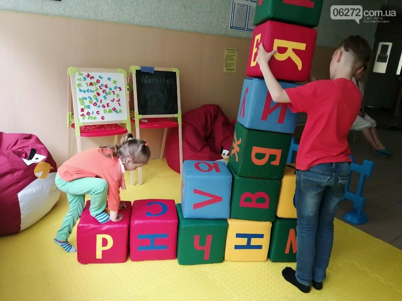 В амбулатории Константиновки установили детскую площадку, фото-2