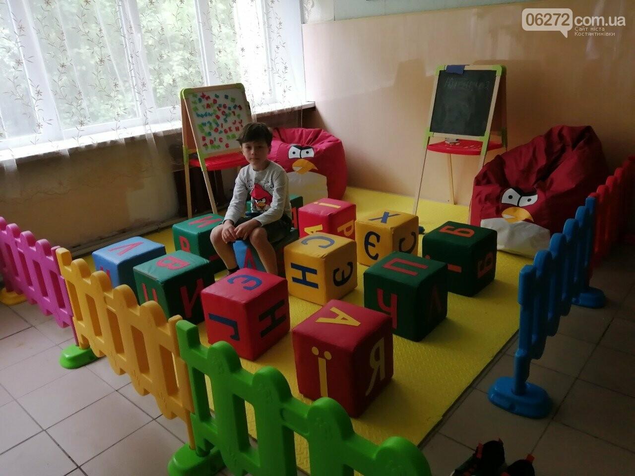 В амбулатории Константиновки установили детскую площадку, фото-1
