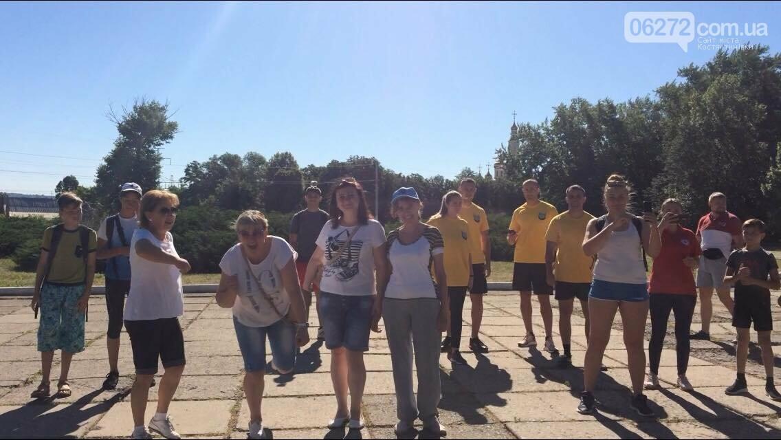 У Костянтинівці долучилися до забігу #ЯпротиНаркотиків #ЯОбираюБіг #УкраїнаБіжить, фото-1