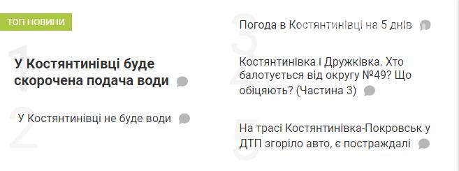 Новини Костянтинівки. Топ-5, фото-1