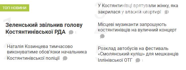 Цікаві новини Костянтинівки. Топ-5, фото-1
