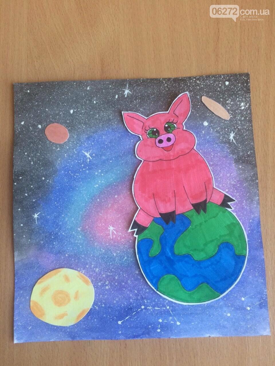 «Намалюй свиню – відволічись від гаджета!» - креативність учительки із Костянтинівки, фото-7