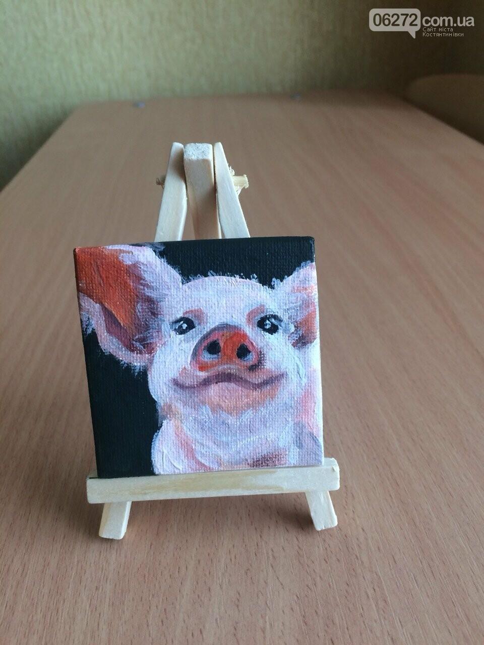 «Намалюй свиню – відволічись від гаджета!» - креативність учительки із Костянтинівки, фото-8