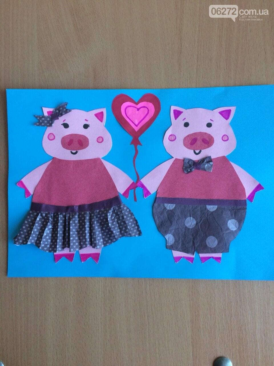 «Намалюй свиню – відволічись від гаджета!» - креативність учительки із Костянтинівки, фото-9