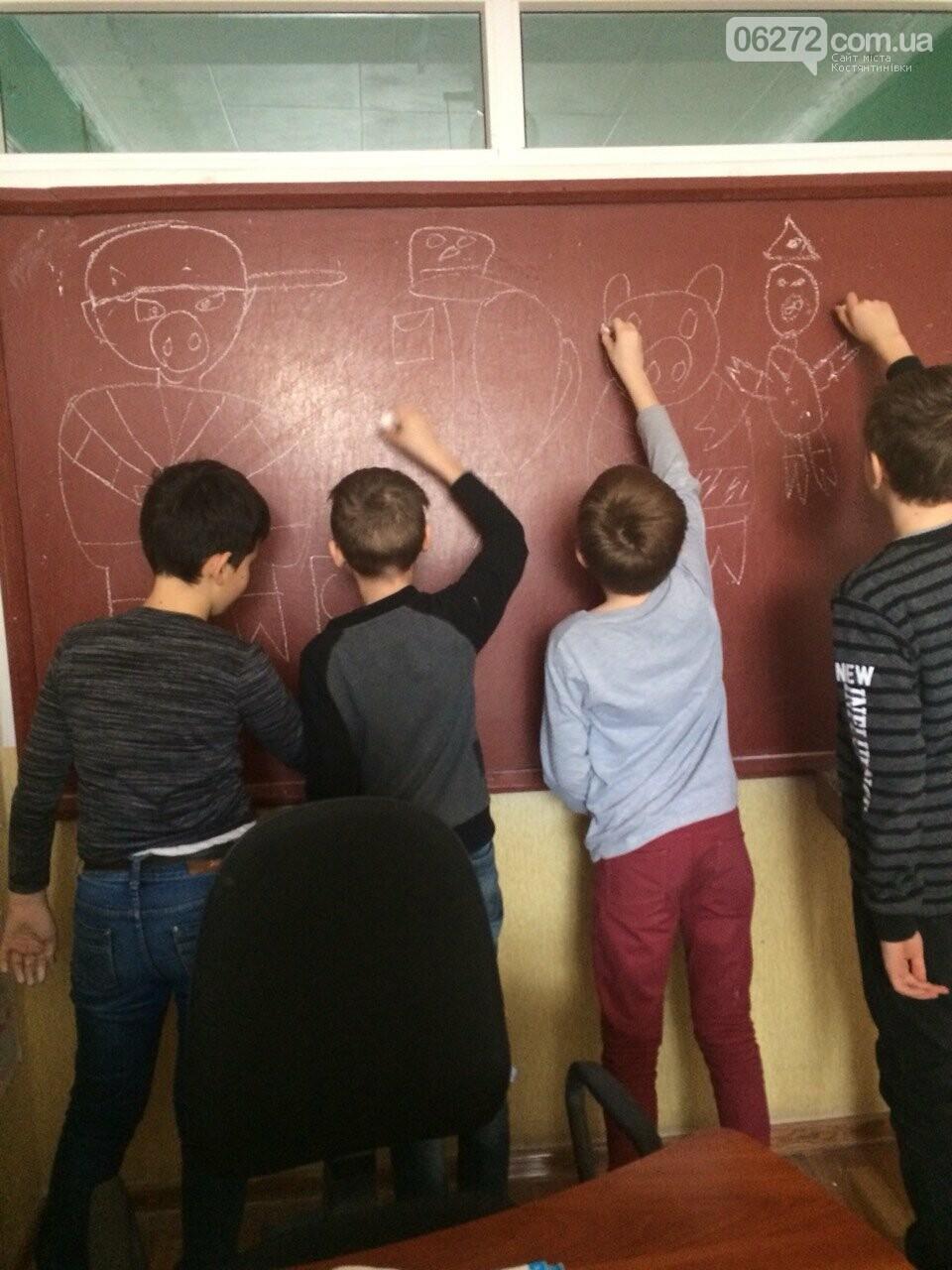 «Намалюй свиню – відволічись від гаджета!» - креативність учительки із Костянтинівки, фото-1