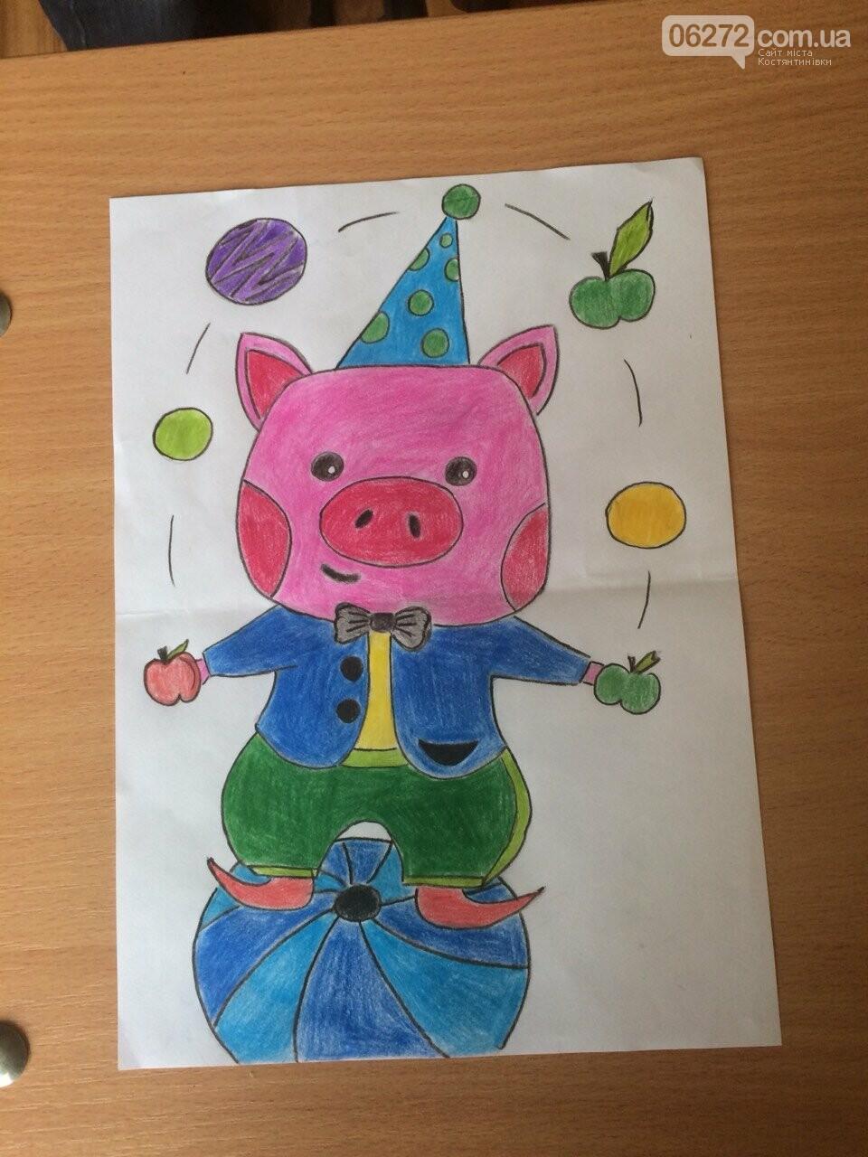 «Намалюй свиню – відволічись від гаджета!» - креативність учительки із Костянтинівки, фото-15