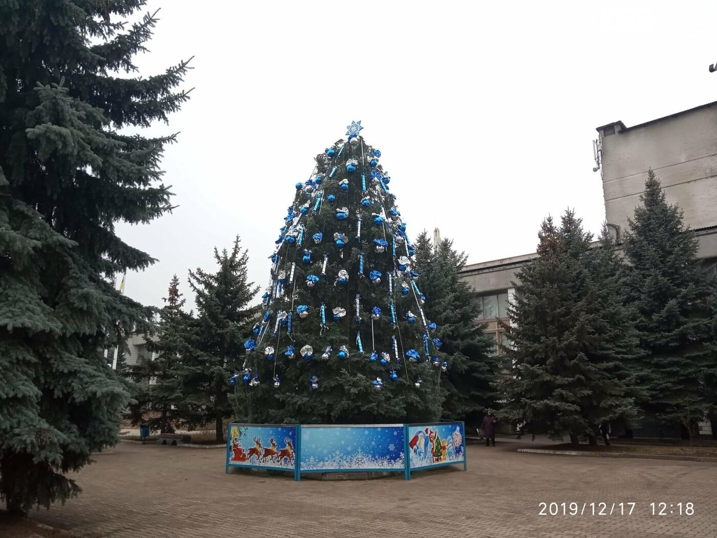 У Костянтинівці відбулося відкриття головної ялинки міста, фото-1