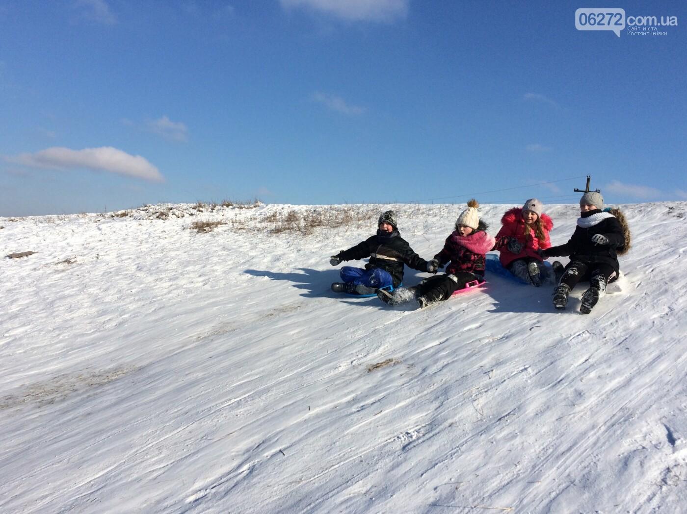 Зимовий відрив дітей Костянтинівки (фото,відео), фото-3