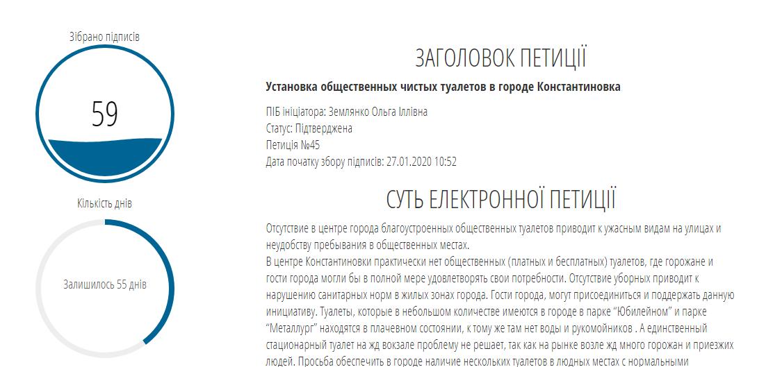 У Костянтинівці триває збір підписів на підтримку петицій , фото-1