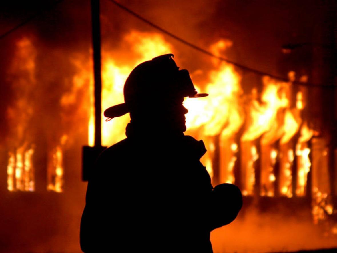 Житель Константиновки подпалил дом, в котором проживал, фото-1