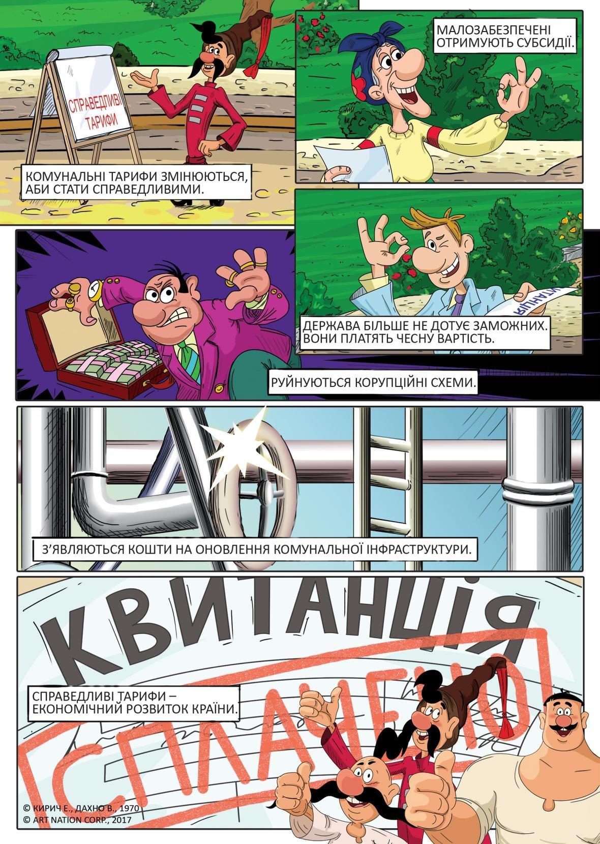 Легендарный мультфильм «Как казаки ...» интерпретировали в комиксах о тарифах, фото-1