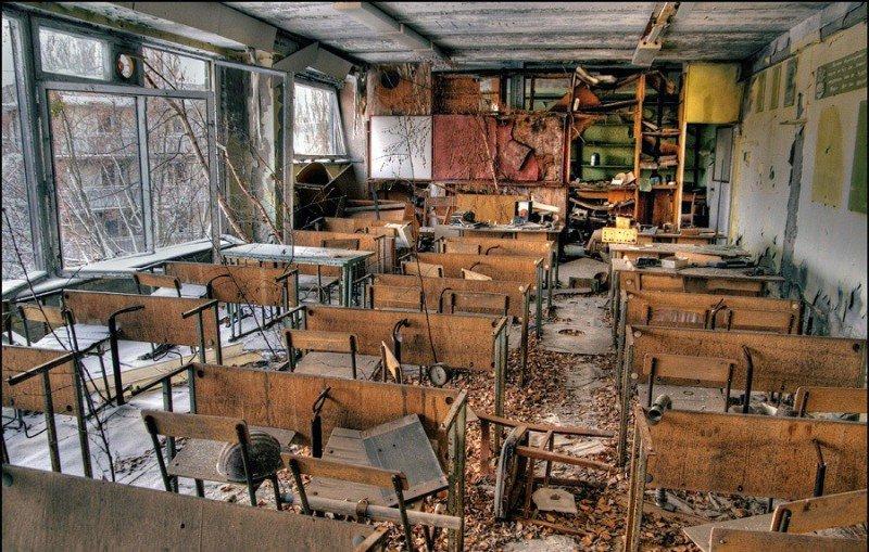 Чернобыльская катастрофа. 32 года спустя (фото, видео), фото-9