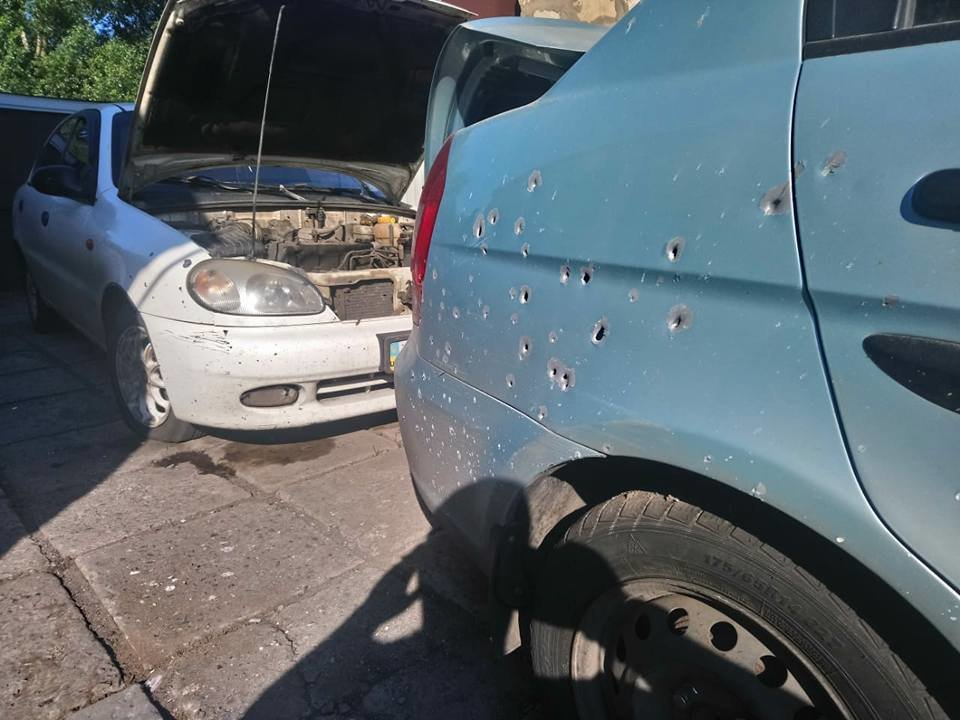 В Донецкой области дом активистов закидали гранатами, фото-5