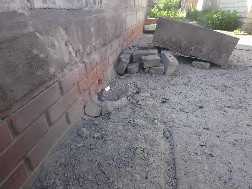 В Донецкой области дом активистов закидали гранатами, фото-4