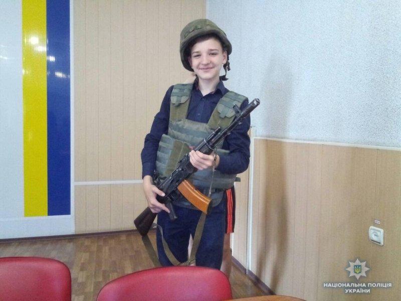 Школярі Костянтинівки побували у місцевому відділенні поліції, фото-2