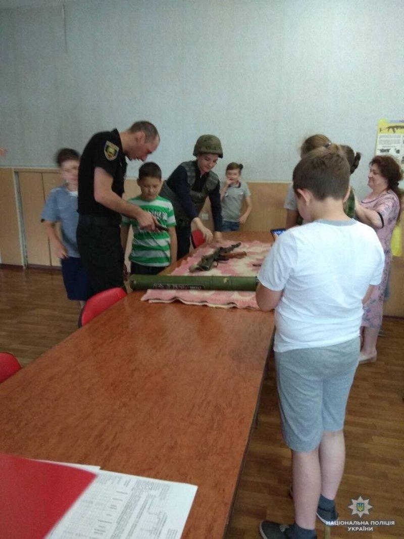 Школярі Костянтинівки побували у місцевому відділенні поліції, фото-7