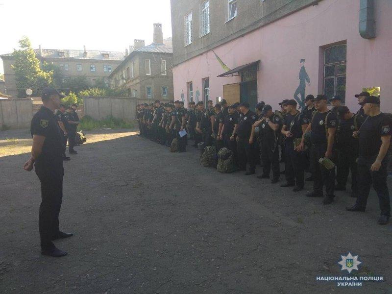 У Костянтинівському відділенні поліції пролув сигнал  «Тривога», фото-1