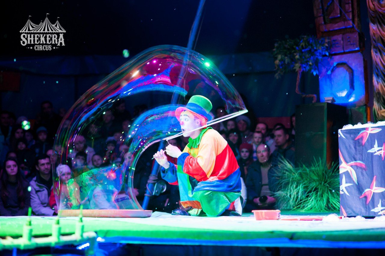 """Цирк  """"Shekera"""" впервые приедет с шоу-программой в  Константиновку , фото-3"""