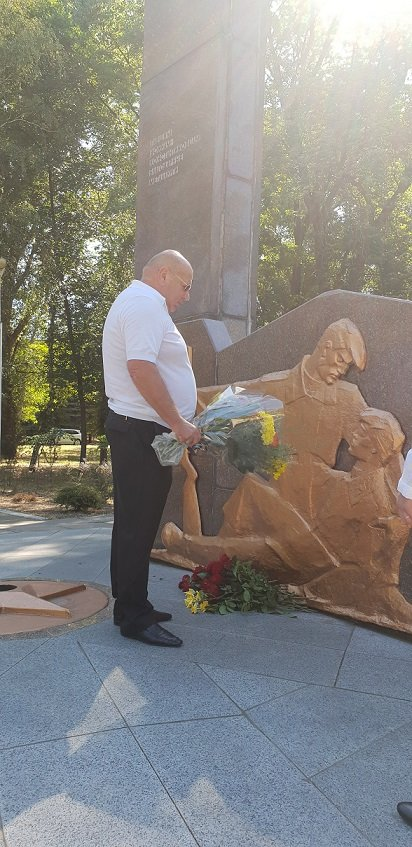 У Костянтинівці вшанували пам'ять жертв війни в Україні, фото-5