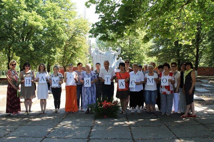 У Костянтинівці вшанували пам'ять жертв війни в Україні, фото-3