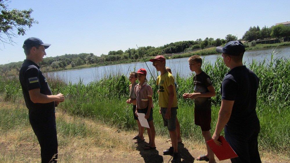 Рятувальники Костянтинівки попереджають про нещасні випадки на водоймах , фото-1