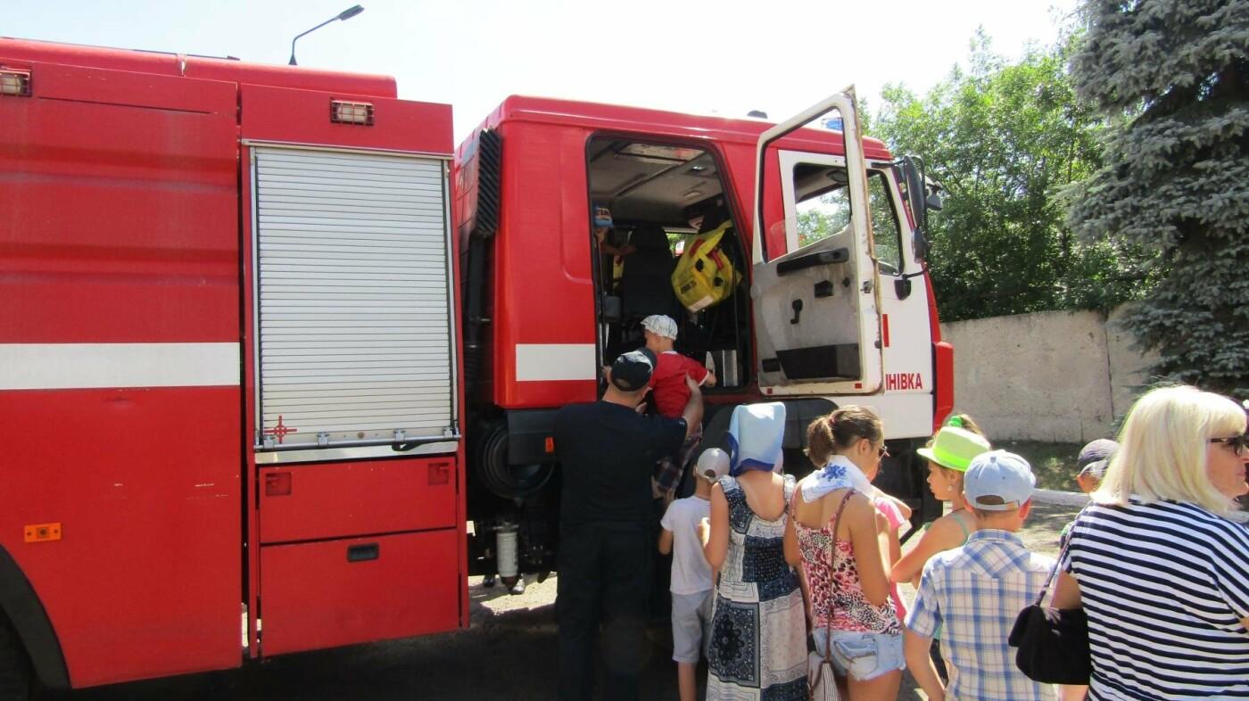 Екскурсія до пожежної частини Костянтинівки, фото-4