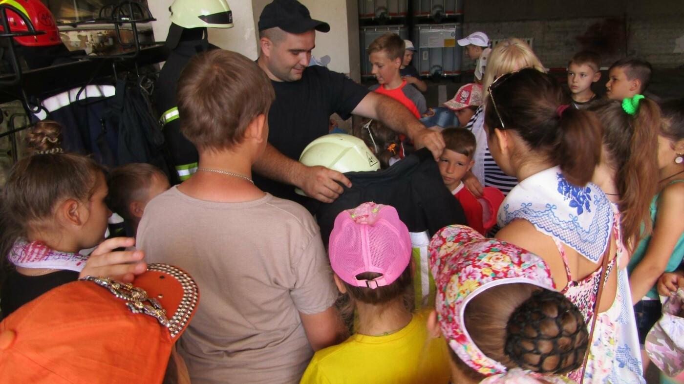 Екскурсія до пожежної частини Костянтинівки, фото-1
