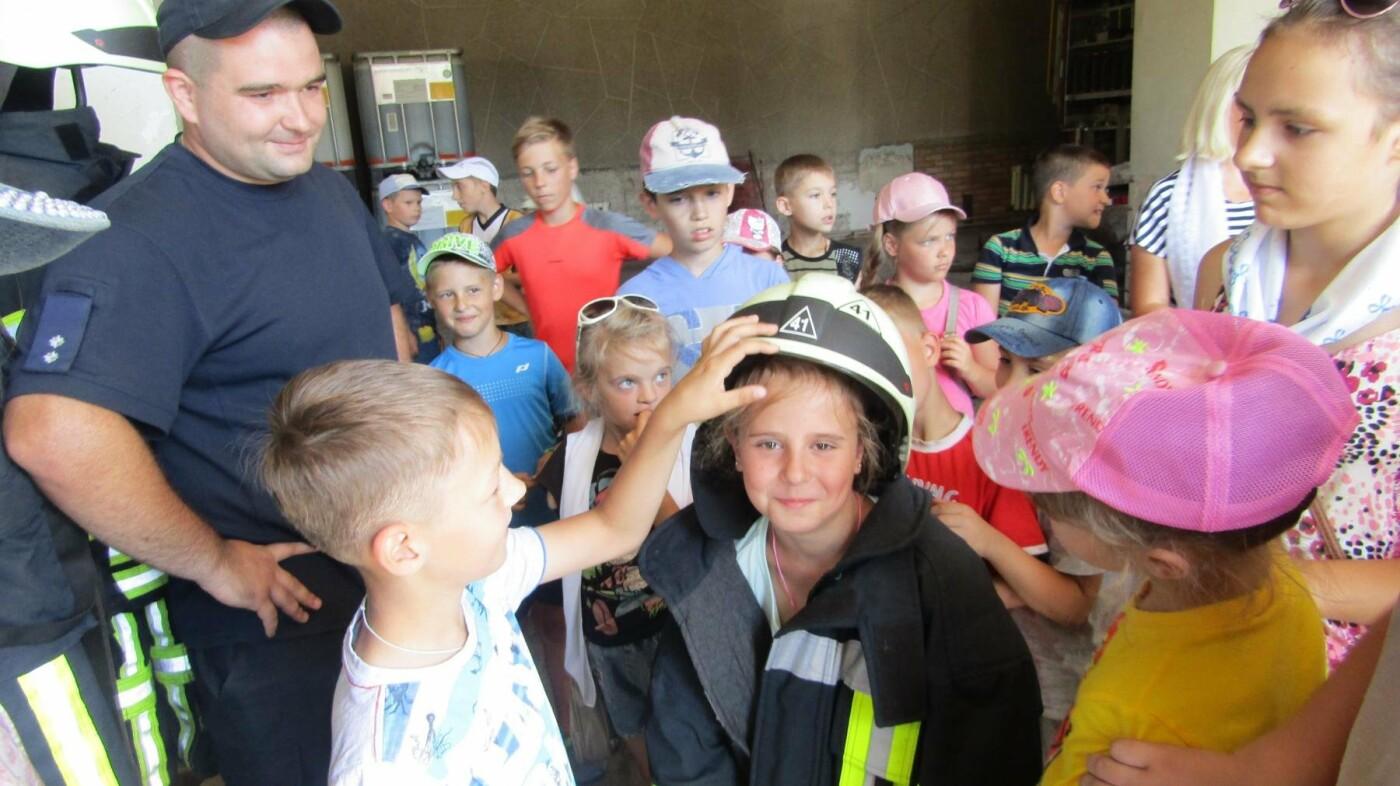 Екскурсія до пожежної частини Костянтинівки, фото-3